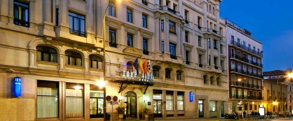 Hotel atocha tryp esprosa ingenieros consultores - Hotel piramide madrid ...